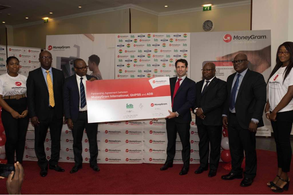 Moneygram Has Partnered With The Agricultural Development Bank Adb And Ghana Interbank Payment Settlement Systems Ghipps To Offer Customers